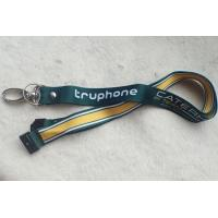 Buy cheap PP Material Promotional Printing Satin Lanyard With Custom Logo from wholesalers