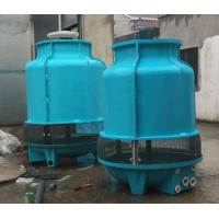 Buy cheap Adjustable Angle 50T Huge Round Cooling Tower , Small Diameter Evaporative Cooling Tower from wholesalers
