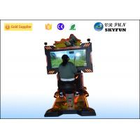 Wholesale Interactive Game 9D VR Simulator , Virtual Reality Equipment With Motion Ride from china suppliers