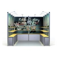 Aluminum Exhibition Booth Display Stand , 3*3m Modular Trade Show Displays Manufactures