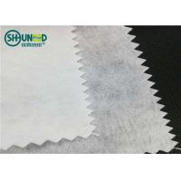 Wholesale Airlaid 90gsm polyester/viscose cut away nonwoven embroidery backing paper fabric from china suppliers