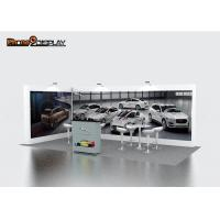 Buy cheap 10x10 Pop Up Trade Show Booth Walls With Single And Double Sided Graphic Printing from wholesalers