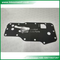 Buy cheap Cummins engine ISBE ISDE QSB oil cooler seal gasket 4896409 Filter Head Gasket PC200-8 excavator from wholesalers