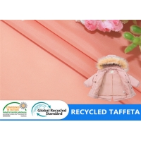 Buy cheap Jacket Lining 300T Taffeta Recycled Plastic Bottle Fabric from wholesalers
