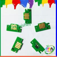 Wholesale refillable cartridge chip for Canon IPF605 IPF705 large format printer chip from china suppliers