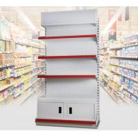 Buy cheap 3 Layer Supermarket Display Shelving Pharmacy Display Racks With LED Light product