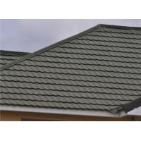 Buy cheap Waterproof Stone Coated Metal Roof Tiles / Feroof Tech Colored Shake Roof Tile from wholesalers