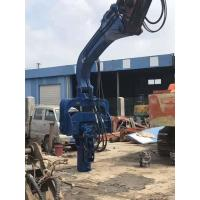 Buy cheap Photovoltaic Series Pile Driver Machine , Excavator Mounted Sheet Pile Driver from wholesalers