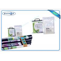 Buy cheap Roll Packed / Piece Packed Nonwoven Garden Weed Control Fabric Eco Friendly 2% Or 3% UV Protection Black / White from wholesalers