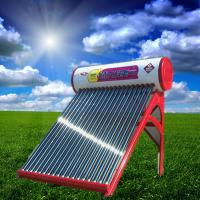 Buy cheap Colored Steel Integrated Non-pressurized Solar Water Heater With 20 Tubes from wholesalers