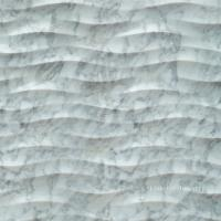 Wholesale 3D Natural White Carrara Stone Feature Wall Art Tile from china suppliers