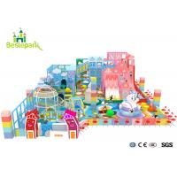 Buy cheap Children indoor playground Macaron Theme Park For Commercial Center from wholesalers