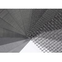 Buy cheap SS 316 304 Stainless Steel Wire Mesh / Woven Wire Mesh Panels Solvent Resistant from wholesalers