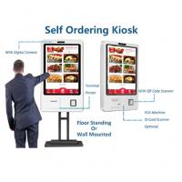 Buy cheap 110v / 220v Floor Standing Digital Signage Touch Display Kiosk High Brightness from wholesalers