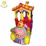 Buy cheap Hansel  popular design fiber glass amusement park games kiddie train ride from wholesalers