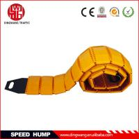 Buy cheap Yellow Plastic Portable Speed Hump from wholesalers