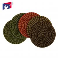Buy cheap Marble Granite Diamond Polishing Pads Excellent Service Stable Performance from wholesalers