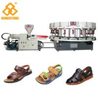 Buy cheap Automatic Sneaker Direct Injection PVC Shoes Making Machine Single Color from wholesalers