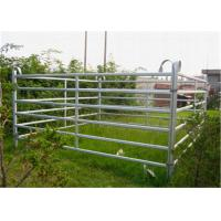 Buy cheap Steel Farm Gate Fence For Horse / Sheep / Cattle Animals Easily Assembled from wholesalers