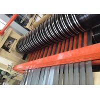 Buy cheap Slitter Rewinder Machine Uncoiling Leveling Cutting Stacking Included from wholesalers