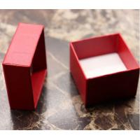 Wholesale Red paper ring boxes from china suppliers