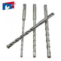 China Durable SDS Plus Hammer Drill Bits 6 X 110 Mm With Flat Head Single Flute on sale
