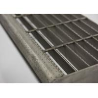 Buy cheap Light Weight Steel Grate Stair Treads Weather / Aging Resistance Long Life from wholesalers