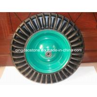 Buy cheap Solid Rubber Wheel for Handtrolley and Wheelbarrow (4.00-8) from wholesalers