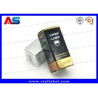 Buy cheap Recyclable Foldable Paper Box For 10ml Glass Vials Bottles With Hologram Labels from wholesalers