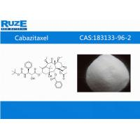 Buy cheap China synthesis lab supply Inhibitors  Cabazitaxel CAS: 183133-96-2 Antineoplastic Drugs from wholesalers