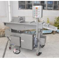 China Meat Processing Machine Breading Machine With Adjustment Mechanical Speed on sale