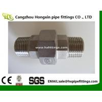 Buy cheap BSP / NPT Threaded Screwed Stainless Steel Pipe Fitting Union / Elbow Fitting from wholesalers