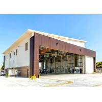 Buy cheap Air Force Base Q235B Steel Hangar Buildings With 5 Ton Crane System from wholesalers