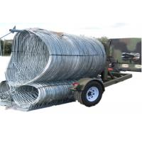 China Rapid Development Mobile Security Barrier Razor Barrier For Military / Public on sale