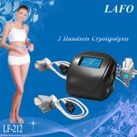 Wholesale HOTTEST!!! 3 handles Portable Keyword Cryolipolysis Beauty Machine from china suppliers