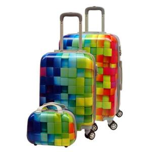 Wholesale Lightweight ODM Colorful 4 Wheel Trolley Luggage from china suppliers