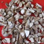 Buy cheap Air-Dired Champignon Mushroom Umbrella/Stem Cubes(D) from wholesalers