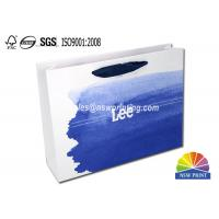 Wholesale Upscaled 200g Coated Custom Paper Shopping Bags For Clothes Apparel from china suppliers