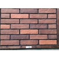 Buy cheap Thin Decorative Faux Wall Brick , Ceramic Faux Brick Panels Outdoor from wholesalers