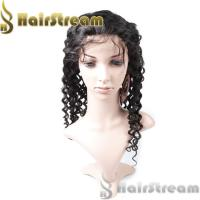 Buy cheap 100% Human Hair Full Lace Wig Indian Women remy Hair Wigs from wholesalers