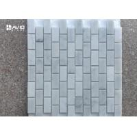 Buy cheap Polished Rectangular Decorative White carrara Mosaic Tiles For Floor/wall product