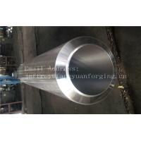 S355NL Hot Rolled Forged Bar Forged Sleeves Pipe With PED Certificate Machined