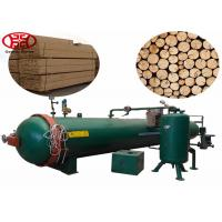 Buy cheap Pressure Wood Impregnation Machine , 12m Creosote Wooden Pole Treatment Plant from wholesalers