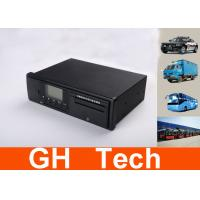 Black Integrated Vehicle GPS Tracker , GLONASS Real Time GPS Tachograph Manufactures