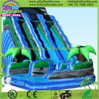 Buy cheap 2015 inflatable game toys used playground inflatable slides for sale from wholesalers