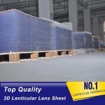 Buy cheap PLASTICLENTICULAR 25 lpi lenticular sheet plastic PS 3d lenticular lenses for uv flatbed printer and inkjet print from wholesalers