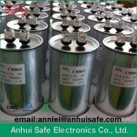 Wholesale China old brand retail wholesale sell produce CBB65 ac capacitor 10uf to 120uf 450VAC 550VAC from china suppliers