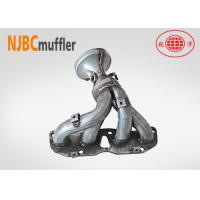 China Catalytic converter welding manifold   catalytic converter housing semi-finished product on sale
