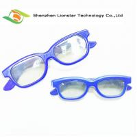 Buy cheap Circular Polarized 3D Glasses , Plastic Or Paper Movie Theater 3D Glasses from wholesalers