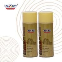 Buy cheap Decorative Wood Lacquer Aerosol Spray Paint 400ml Content Tin Can Material product